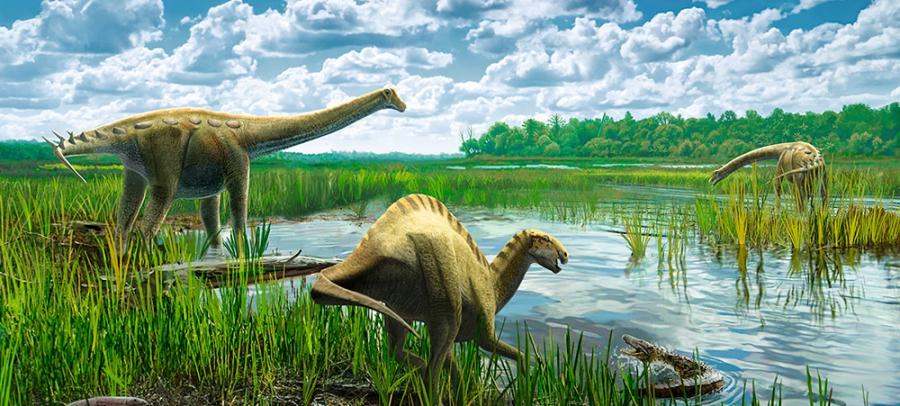 Los Titanosaurios de Lo Hueco